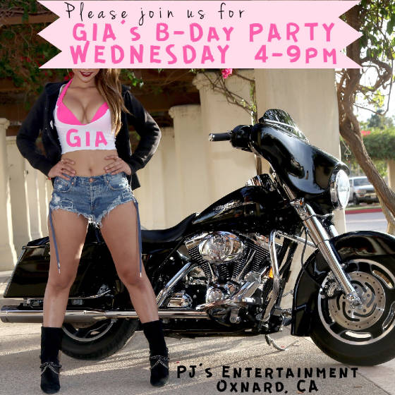 Our Sexy GIA is having a birthday on Wednesday!